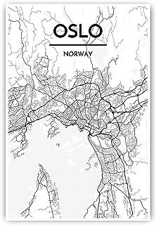 Best oslo map print Reviews