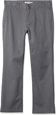 Amazon Essentials Straight Leg Flat Front Uniform Chino Pant Niños
