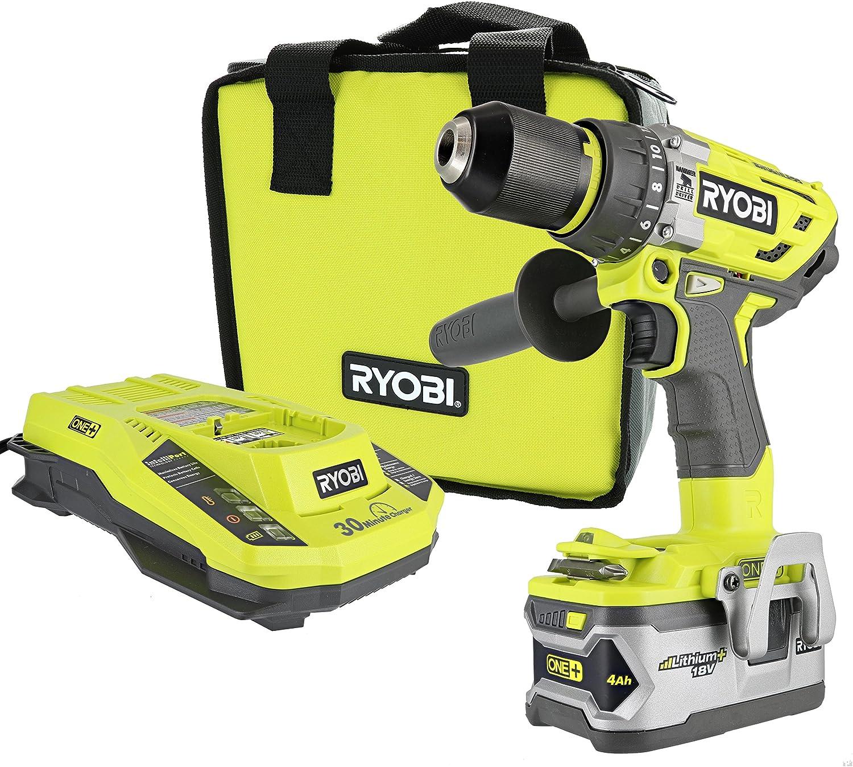 Ryobi P1813 One+ Lithium Ion Cordless Drill Hammer