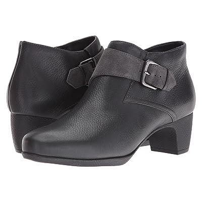 SoftWalk Imlay (Dark Grey Veg Tumbled Leather/Cow Suede) Women
