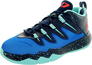 Nike Kids CP3.IX Bp Soar/Infrared 23/Mdnght NVY/Cp Basketball Shoe 12 Kids US