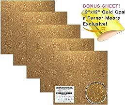 Antique Gold Glitter Vinyl, 12