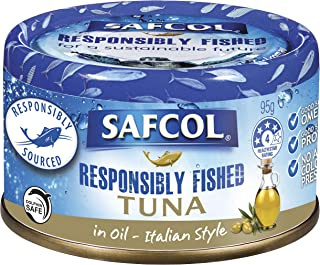 SAFCOL Tuna in Olive Oil Blend 95g Can x 12