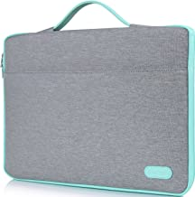 "ProCase 14-15.6 Inch Laptop Sleeve Case Protective Bag, Ultrabook Notebook Carrying Case Handbag for 14"" 15"" Samsung Sony Asus Acer Lenovo Dell HP Toshiba Chromebook Computers -Light Grey"