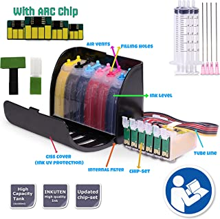 INKUTEN 600ml Hi-Definition Dye ink CISS for 79 #79 T079 Cartridge Artisan 1430, Stylus Photo 1400 Continuous Ink system