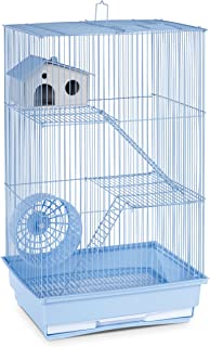 Prevue Hendryx SP2030B Three Story Hamster and Gerbil Cage, Light Blue