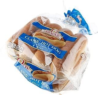 Arnold Potato Hot Dog Bun, 8 count