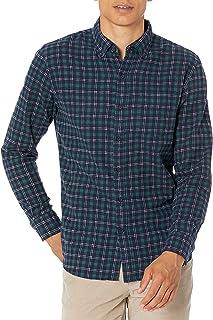Goodthreads Men's Standard-Fit Long-Sleeve Heather Flannel Shirt