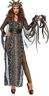 Leg Avenue-Multi-Colour Medusa Fancy Dress Costume UK 10-12, 3-Piece Mujer, Multicolor, Medium (EUR 38-40) (86654 10102-101-M)