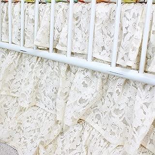 waterfall crib skirt