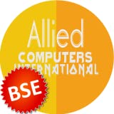 BSE Share price of Allied Computers International