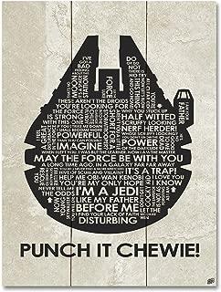 Punch IT Chewie! Wood Art Print by Stephen Poon (18