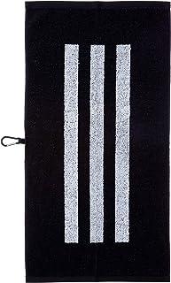 [アディダスゴルフ] 3ストライプ スポーツタオル GUX49 ブラック 日本 Free (FREE サイズ)
