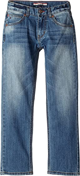 Rebel Stretch Jeans in Stone Blue (Toddler/Little Kids)