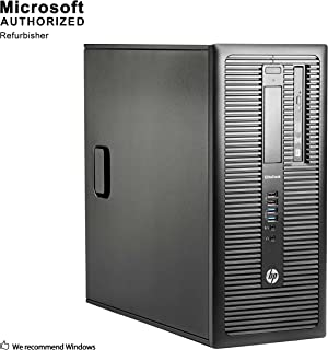 Fastest HP EliteDesk 800 G1 Business Tower Computer PC (Intel Ci5-4570 upto 3.9GHz, 16GB Ram, 1TB HDD + 120GB Brand New SSD, Wireless WIFI, Display Port, USB 3.0) Win 10 Pro (Renewed)