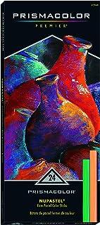 Prismacolor 27049 Premier NuPastel 硬質彩色粉蠟筆,24支