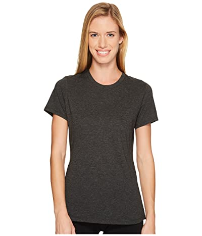 New Balance Heather Tech Tee (Black Heather) Women