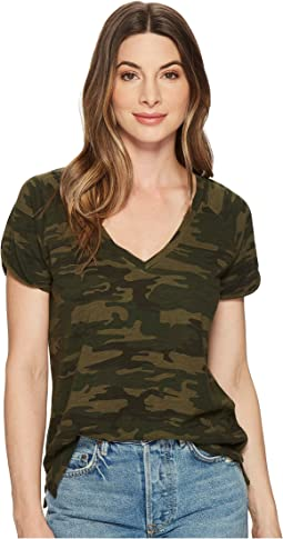 Sanctuary - Camo V-Neck Tee