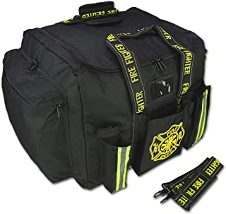 Lightning X Premium Step-In Turnout Gear Bag Front Operations Pocket Black