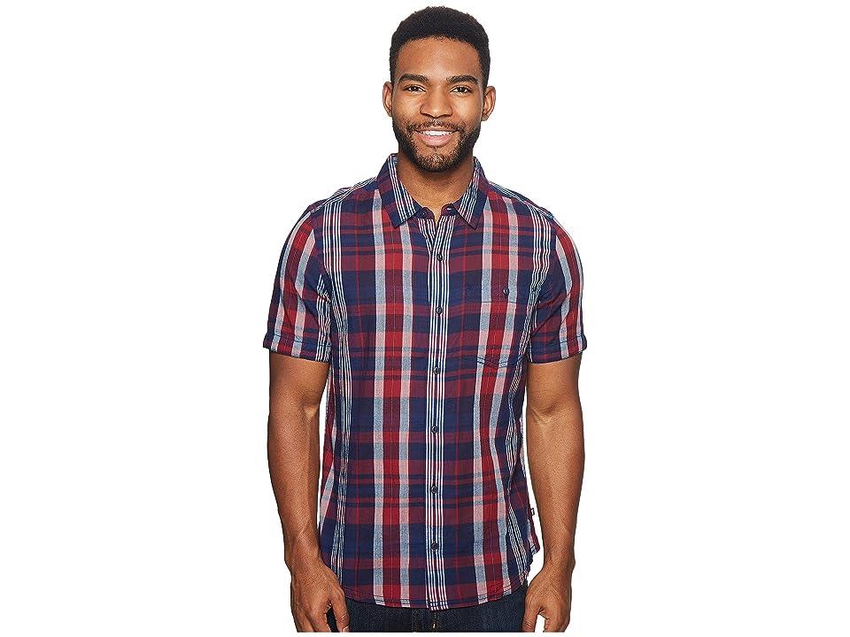 Toad&Co Beckmen Short Sleeve Slim Shirt (Brick Red) Men