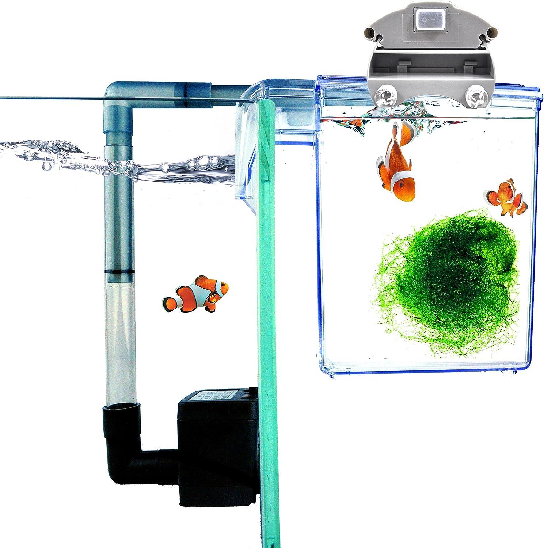 Finnex External Refugium Breeder HangOn Box, Water Pump