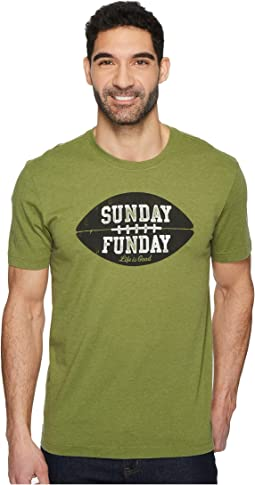 Life is Good - Sunday Funday Crusher Tee