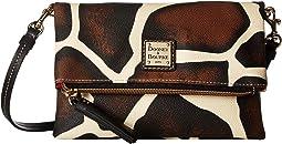 Dooney & Bourke - Serengeti Fold-Over Zip Crossbody