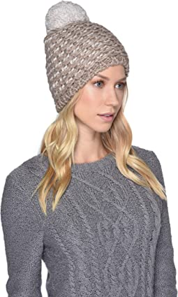 Yarn Pom Knit Hat