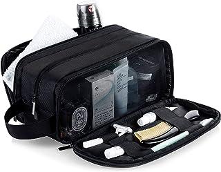 Lizzton Mens Toiletry Bag for Travel Large Dopp Kit Waterproof Women Shaving Bag Portable Toiletries Organizer Bathroom Storage Bags