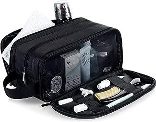 Lizzton Toiletry Bag for Men Travel Large Dopp Kit Waterproof Women Shaving Bag Portable Toiletries Organizer Bathroom Storage Bags