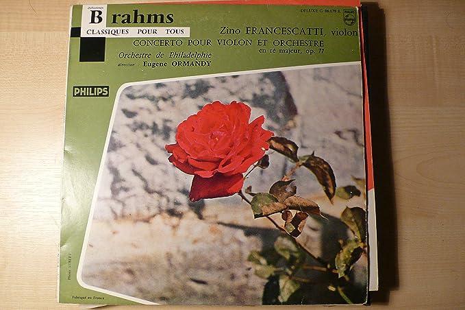 Concerto Pour Violon et Orchestre (Francescatti, Ormandy)