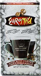 Euromild Low Acid Ground Coffee, 14.1 oz