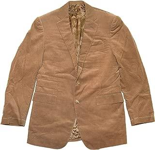 Ralph Lauren Polo Purple Label Mens Corduroy Blazer Coat Jacket Brown Italy 38R