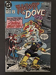 Hawk and Dove #21 1991 first printing original DC Comic Book New Gods 1st appearance of 4 female furies Bloody Mary, Chessure, Malice Vundabar, and Speed Queen