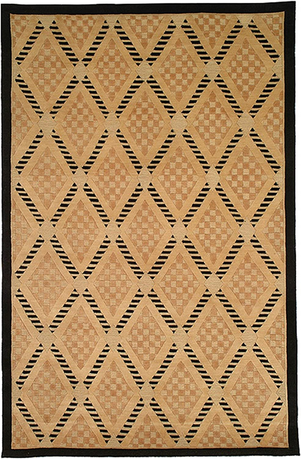Safavieh Couture Hand Knotted Tibetan Agathi Modern Wool Rug 6 X 9 6 X 9 Furniture Decor