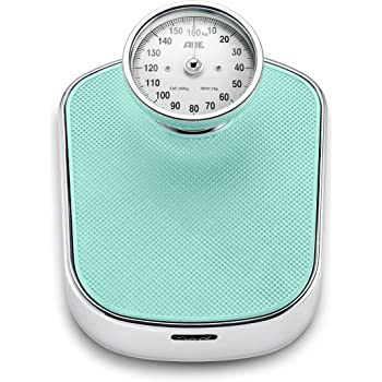 Ade Mechanical Bathroom Scale Bm 702 Felicitas. Analog Bathroom Scale With Large Scale And Non-Slip Weighing Surface in a Classic Design - 3 kg