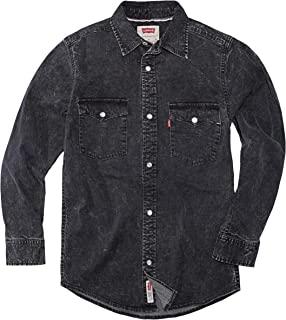 Levi's Boys' Denim Western Shirt