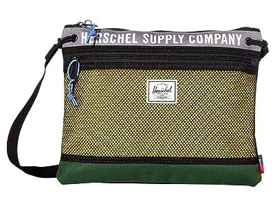 Herschel Supply Co. Alder (Greener Pastures/Grey/Cyber Yellow) Handbags