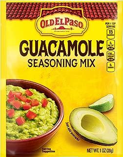 Old El Paso Guacamole Mild Seasoning Mix 1 oz Packet (pack of 32)