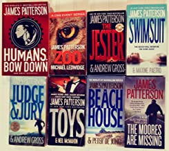 Eight of Patterson's Standalone Novels -- The Moores Are Missing / The Beach House / Toys / Judge & Jury / Swimsuit / The Jester / Zoo / Humans Bow Down