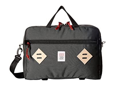 Topo Designs Mountain Briefcase (Charcoal) Briefcase Bags