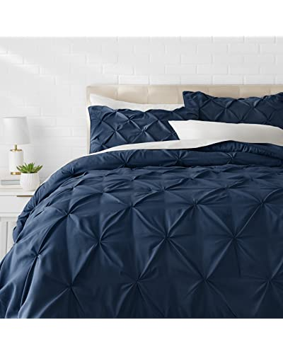 Navy and Grey Bedding: Amazon.com