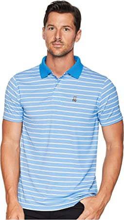 Performance Golf Striped Polo