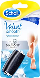 Scholl Velvet Smooth Express Pedi Foot File with Diamond Crystals Refill