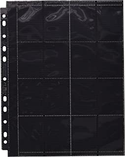 Ultimate Guard Pages 32 Pocket Card Sleeves (10 Piece), Black