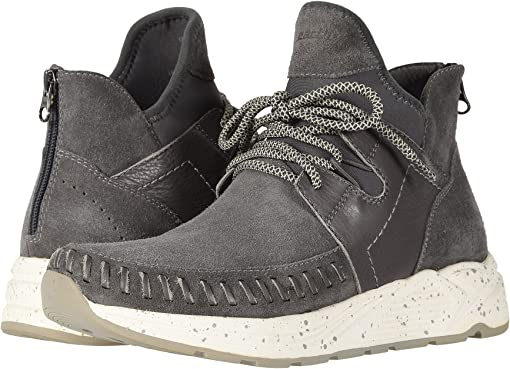 Charcoal Grey Suede
