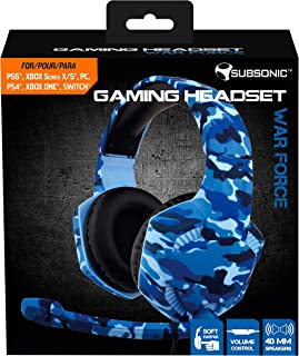 Subsonic - Gaming headset War Force for PS4 / Xbox one/PC/Switch (only Fortnite) - Gamer acceessories (PS4///)