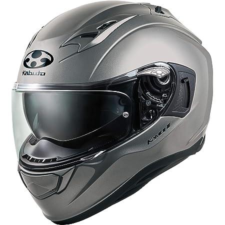 オージーケーカブト(OGK KABUTO)バイクヘルメット フルフェイス KAMUI3 クールガンメタ (サイズ:L) 584788
