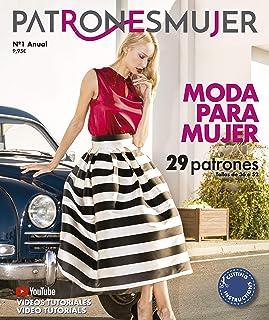 Revista PATRONESMUJER nº1. 29 patrones de ropa para mujer.