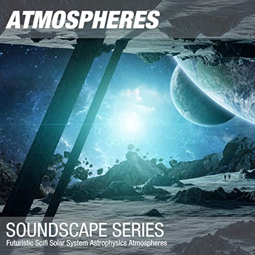 Futuristic Scifi Solar System Astrophysics Atmosphere 010 by